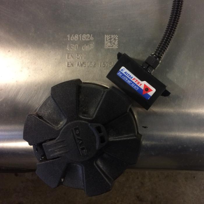 Kuro bako apsauga FTAS1 2M (su 2 magnetiniais sensoriais)