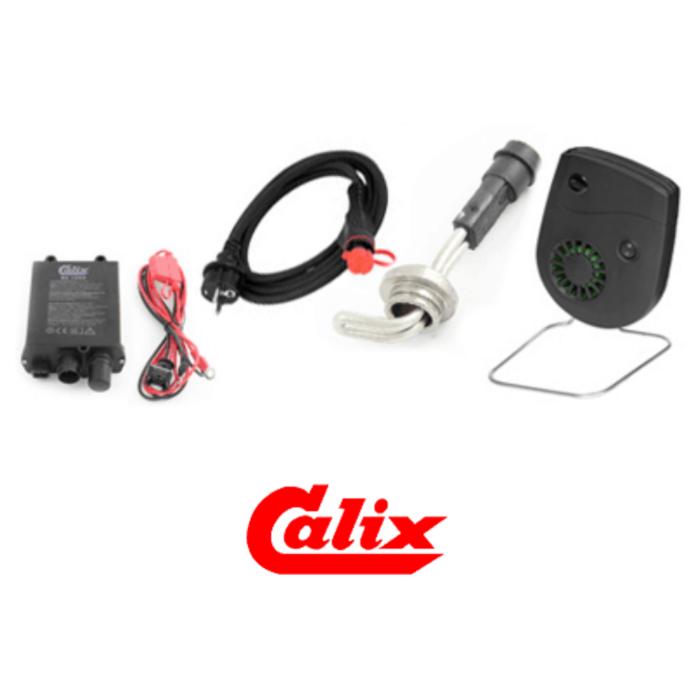 calix variklio šildytuvas, salono šildytuvas, akumuliatoriaus įkroviklis